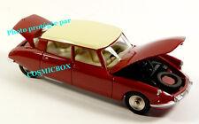 DINKY TOYS car CITROEN DS 19 open hood ref 530 Atlas new in box auto bordeaux