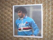RUUD GULLIT SAMPDORIA CALCIO COMIX PANINI 1994/95 FIGURINA STICKER CARD VELINA
