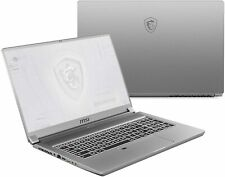 "MSI WF65 15.6"" Thin Bezel Full HD  i7-10750H NVIDIA Quadro Workstation Laptop"