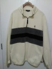 Men's Fleece Pullover Long Sleeve Size Large By Nautica
