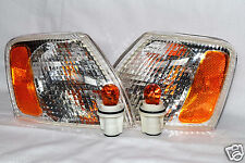 For 1998-2001 Passat Corner Turn Signal Light Lamp RL H One Pair W/2 Light Bulbs