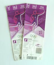 Coventry City FC Memorabilia London 2012 Olympic Games Football Tickets Stubs