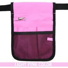 Nurse Vet  Physio Teacher Medical Professions Waist Belt Pouch Bag - Light Pink