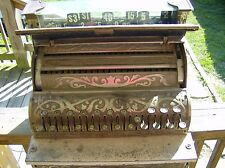 MICHIGAN CASH REGISTER MODEL ? NICKEL SILVER FINISH