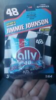 JIMMY JOHNSON DARLINGTON THROWBACK WEEKEND LIONEL 1/64 SCALE DIECAST