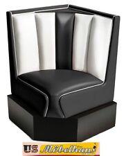 HW-60/60-B American Furniture Diner Bench Corner Seat Diner Retro USA Catering