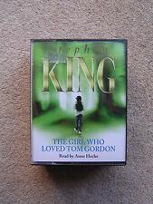 STEPHEN KING - THE GIRL WHO LOVED TOM GORDON - AUDIO  BOOKS      ( 6 CASSETTES )
