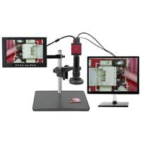 14MP HDMI VGA HD Industry 60F/S Video Microscope Camera with Remote Control