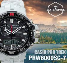 Casio Protrek Triple Sensor V3 Smart Access Tough Solar Watch PRW6000SC-7D