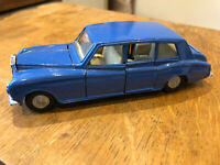 Dinky toys Rolls Royce Phantom metal blue meccano unboxed