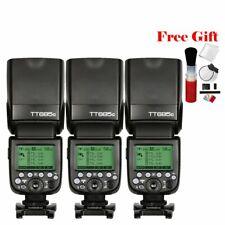 Godox TT685C TTL 2.4G GN60 1/8000s HSS Speedlight Camera Flash For Canon DSLR