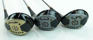 Ben Hogan Apex Wood Golf Club Set 1 3 5 Speed Slot 504 RH Lamkin Grips