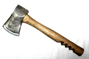 """Vintage """"Our Own""""  Hardware Embossed Hatchet with Custom Hickory Handle"""