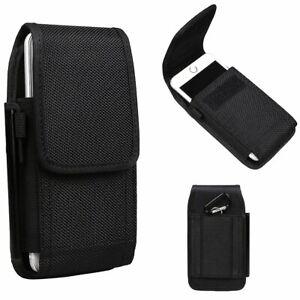 Universal Nylon Belt Hook Pouch Case Holster Fastner Bag For All Mobile Phones