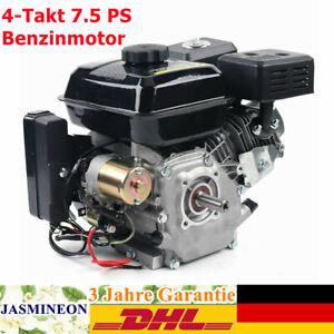 Elektrostart Benzinmotor 7.5 PS Standmotor Austauschmotor Kartmotor 4-Takt DHL