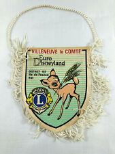 Fanion CRS Villeneuve le Comte Euro Disneyland District 103 Ile de France Est