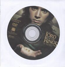 Lord Rings Fellowship (2001) Action Fantasy Adventure Dvd Disc Free Shipping