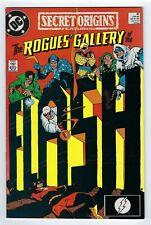 SECRET ORIGINS  #41 The Rogues' Gallery FLASH (DC Comics1989).*High Grade copy