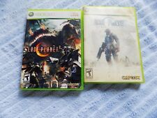 2X LOT Lost Planet Extreme Condition LOST PLANET 2 Xbox 360 Complete