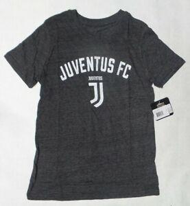 Juventus FC Soccer FC Official Club Boy's Dark Gray Tee Shirt - Medium 10/12