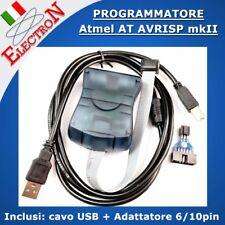 Atmel AT AVRISP mkII AVR ISP USB compliant In-System Programmer MK2 ATAVRISP2