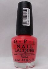 "Opi Nail Lacquer "" I Eat Mainely Lobster "" .5 oz. Bottle"