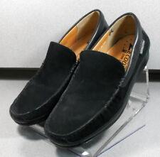 BADUARD BLACK MMPF60 Men's Shoes 11 M (EUR 10.5) Nubuc Slip On Leather  Mephisto