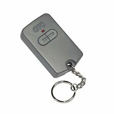 Gate Opener Remote Dual Button Great Accessory for Replacement Automatic Grey