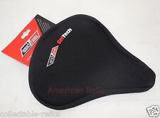 Gel Seat Cover Ladies MTB Soft Comfort Saddle Cruiser Touring Bike Bicycle 3876
