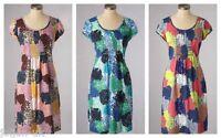 NEW LADIES BODEN BREEZY MULTI COLOUR COTTON BEACH DRESS SIZE  8 -18 BNWOT