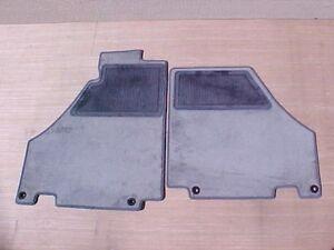Ferrari F430 Evolution Floor Mat Carpet Rug Set Grigio Fumo Gray Pair NEW OEM