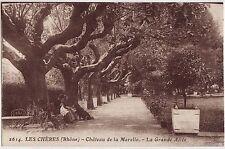 CPA -69-  LES CHERES - Château de la Marelle - La grande Allée.