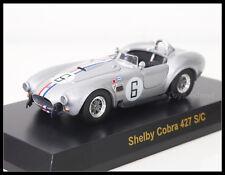 1/64 KYOSHO USA SPORTS CAR Shelby Cobra 427 S/C Diecast Car B Silver #6