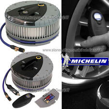 Michelin Car Motor Bike Van Hi Power Tyre Inflator With Detachable Digital Gauge