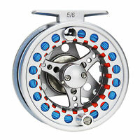 3/4/5/6/7/8WT Fly Reel and Line Combo Aluminum Fishing Reel&Fly Line&Leader