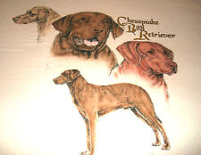 "Chesapeake Bay Retriever T-shirt "" Natural "" Lg ( 42 - 44 )"