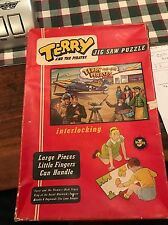 Vintage Terry And The Pirates Jigsaw Puzzle Complete With Box Read Description