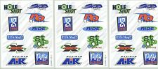 3 sheets Scrapbook Stickers Extreme Sports Quotes Words Skate Play Hard
