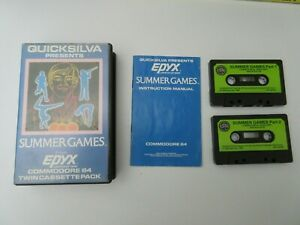 Commodore 64 -  SUMMER GAMES