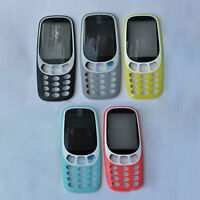 For Nokia 3310 2017 New Frame Front Cover Housing Case  Bezel Faceplate