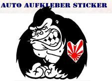 JDM gorila risingsun colorido Sticker Adhesivo digital JDM tuning Style