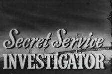 SECRET SERVICE INVESTIGATOR (1948) DVD LYNNE ROBERTS, LLOYD BRIDGES