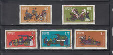 Hungary Stamps 1970 Vintage Automobiles 5v set, used, CTO