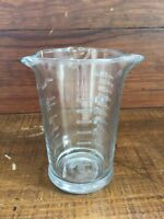 Anchor Hocking 8oz Glass Measuring Cup 3 Triple Pour Spouts USA Beaker Style