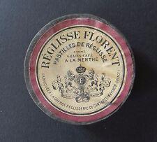 Boite publicitaire REGLISSE à la menthe FLORENT CANTAREL AVIGNON old french tin