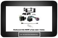 Set Montaje 2DIN BMW 5 E39 1997- > 2003 Embellecedor Radio Marco Instalación +