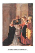 """OLD nice rare Holy cards """"H7312"""" san domenico in soriano"""
