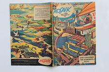 original MOSAIK Hannes Hegen Nr. 30 Der Staudamm am schwarzen Fluss Mai 1959