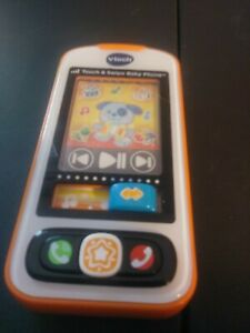 VTECH Touch and Swipe Baby Phone works great