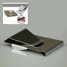 Double Sided Card Credit ID Dollar Slim Stainless Steel Money Clip Wallet